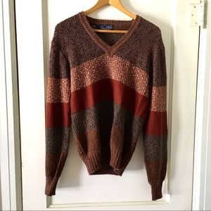 Vintage Mo Hair Mariea Kim 80s V Neck Sweater